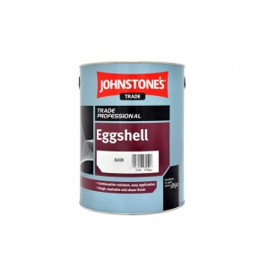 Johnstones Trade Eggshell Paint 5L Black