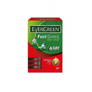 Evergreen Fast Grass Lawn Seed 600g