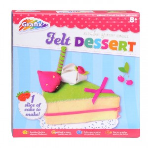 Grafix Make Your Own Felt Dessert Set