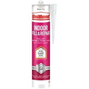 Unibond Indoor Fill & Repair Sealant Cartridge White