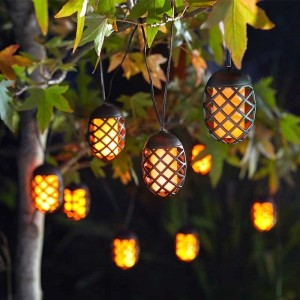 Solar Powered Cool Flame String Lights (10)