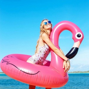 "Giant Flamingo Swim Ring 36"" (90cm)"