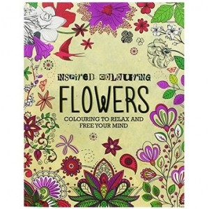 Flowers Inspired Relaxation Colouring Book