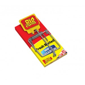 The Big Cheese Fresh Baited Mouse Trap 100% Catch & Kill Rate