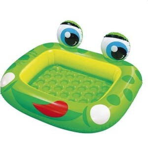 Inflatable Baby Frog Paddling Pool 128 x 110cm