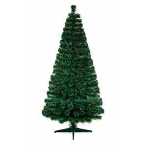 Christmas Fibre Optic Tree 1.2m Colour Changing LEDs