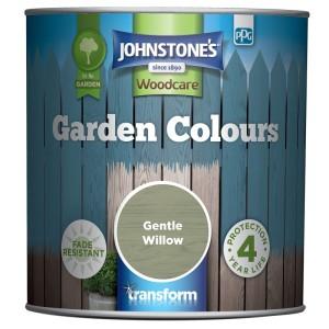 Johnstones Garden Colours Paint 1L Gentle Willow