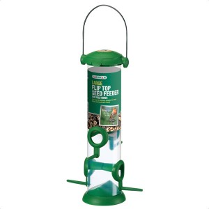 Gardman Large Flip Top Seed Feeder