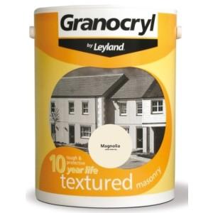 Leyland Granocryl Textured Masonry Paint 5L Magnolia
