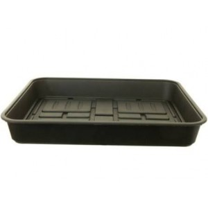 Whitefurze 52cm Large Gravel Tray - Black