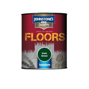 Johnstone's Garage Floor Paint 750ml Dark Green