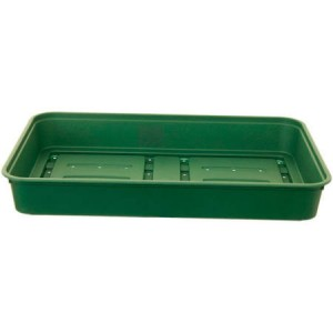 Whitefurze Strong Plastic Greenhouse Gravel Tray 38cm Green
