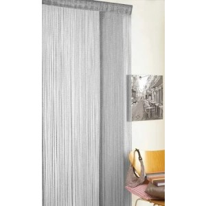 Glitter String Curtain (90 x 200cm) Grey