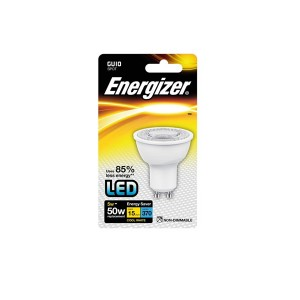 Energizer 5W GU10 Cool White LED Spotlight Bulb
