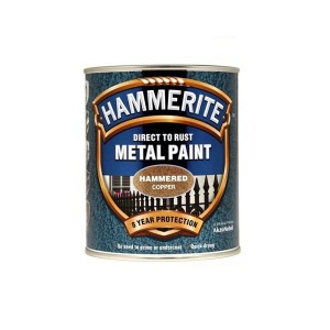 Hammerite Metal Paint 750ml Hammered Copper
