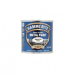 Hammerite Metal Paint 250ml Smooth Cream