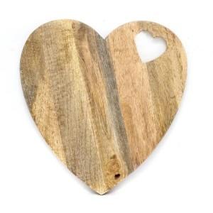 Heart Chop Board