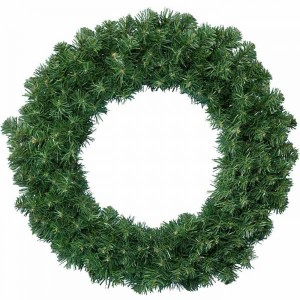 Kaemingk Imperial Green Wreath 50cm