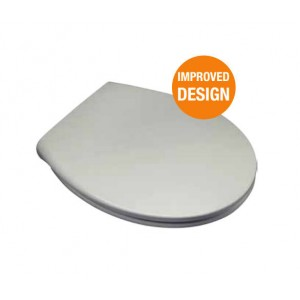 EuroShowers Varde One Toilet Seat White