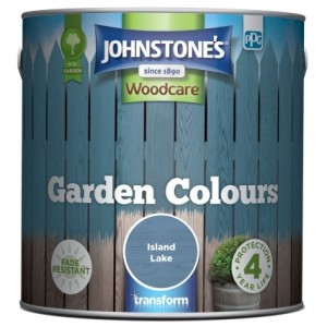 Johnstones Garden Colours Paint 2.5L Island Lake