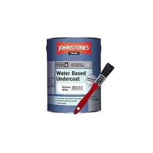 Johnstones Trade Aqua Water Based Undercoat 2.5L Brilliant White