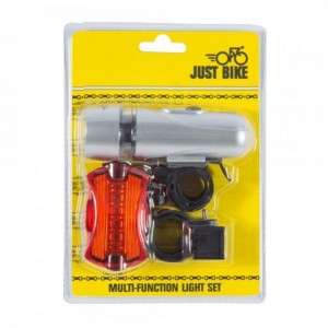 Just Bike Multi-Function Light Set