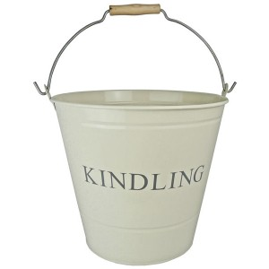 Kindling Bucket - Cream