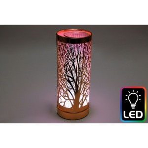 Woodland LED Oil Burner - Rose Gold