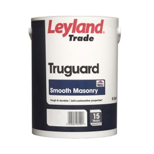 Leyland Granocryl Smooth Masonry Paint 5L Cream
