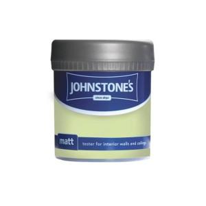 Johnstones Vinyl Emulsion Tester Pot 75ml Lime Crush (Matt)