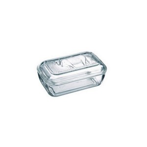 Luminarc Glass Butter Dish