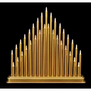Christmas Candlebridge 34cm Gold