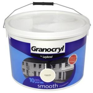 Leyland Granocryl Smooth Masonry Paint 10L Magnolia