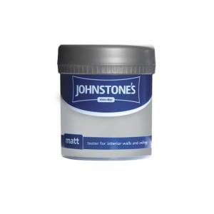 Johnstones Vinyl Emulsion Tester Pot 75ml Manhattan Grey (Matt)