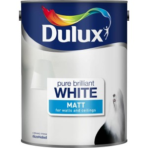 Dulux Emulsion Paint 3L Pure Brilliant White (Matt)