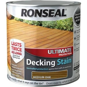 Ronseal Ultimate Protection Decking Stain 2.5L Medium Oak