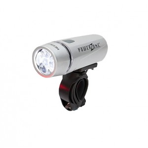 Sport Direct Mega White Front Bike Light