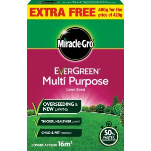 Miracle-Gro Multi Purpose Grass Seed 480g