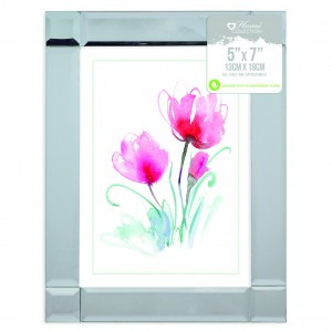 "Picture Frame (5"" x 7\"") Mirrored"