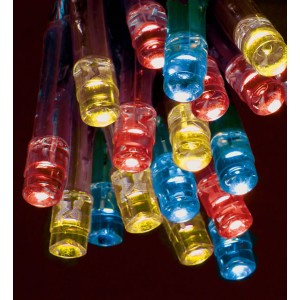 Premier Battery Operated Multi-Colour LED Bulb Lights (35 Lights)
