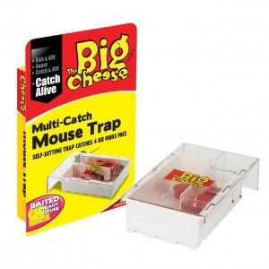 The Big Cheese STV162 Multi Catch Mouse Trap - Small