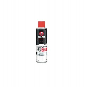 3 in 1 Aerosol Multi Purpose Oil Spray With PTFE 250ml
