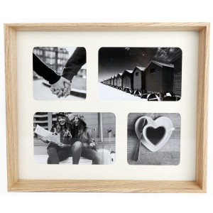 Wooden Box Style Multi Photo Frame