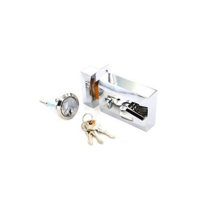 Securit S1729 Polished Chrome Double Locking Nightlatch (Narrow)
