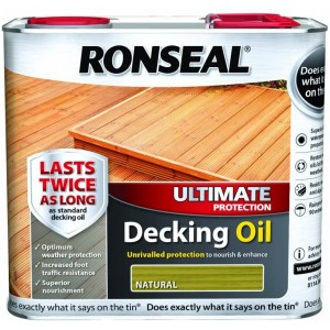 Ronseal Ultimate Decking Oil 2.5L Natural