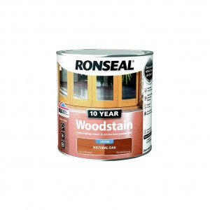 Ronseal 10 Year Woodstain Natural Oak Satin 750ml