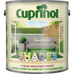 Cuprinol Garden Shades 2.5L Natural Stone