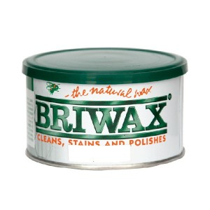 Briwax Natural Wax 370g Clear