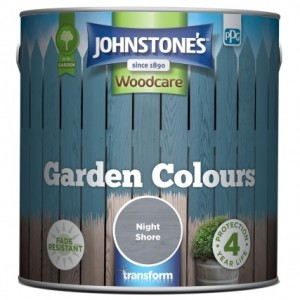 Johnstones Garden Colours Paint 2.5L Night Shore