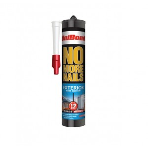 Unibond No More Nails Exterior Cartridge 300ml